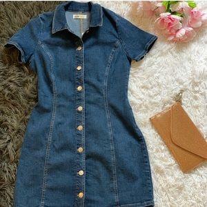 ZARA Jean dress